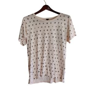 J. Crew Xoxo Tan Shirt
